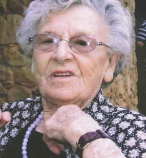 Passion ... Cathie Thompson remained active and energetic in helping her community until she was well into her 80s.