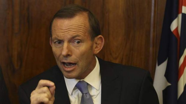 """""""The fundamental difference between the Coalition and the Labor Party is competence and honesty"""" ... Tony Abbott."""