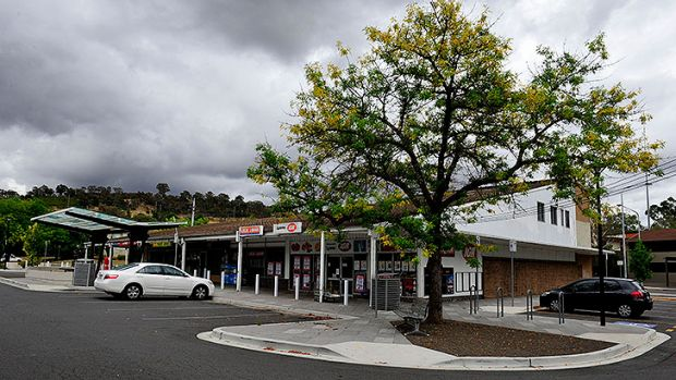 Lyons Village Shopping Centre.. Where parking is at a premium.