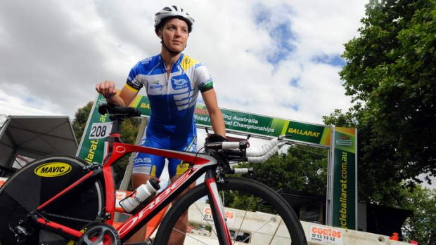Rebecca Wiasak will be a leader for the ACT team at the track nationals in Sydney this week, despite only having been a ...