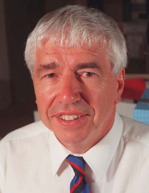 Recognised … professor Gus Guthrie was the first vice-chancellor and president of the University of Technology, Sydney.
