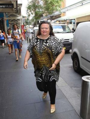 Gina Rinehart: Taking a jump into Lakes.