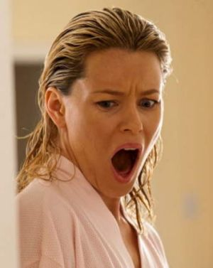 It's a scream ... Elizabeth Banks in <i>Movie 43</i>.