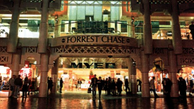 Forrest Chase, one of the areas in which smoking will be banned.