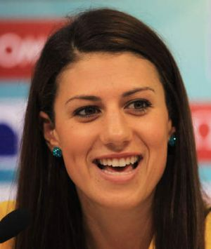 Swimmer Stephanie Rice has signed up for a presenting role with Channel Nine.
