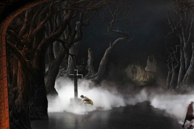 Full dress rehearsal of Giselle, by the Paris Opera Ballet at the Capitol Theatre