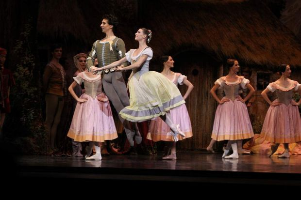 Full dress rehearsal of Giselle, by the Paris Opera Ballet at the Capitol Theatre.