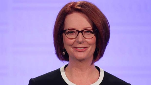 Julia Gillard's glasses distracted some from the day's main event.