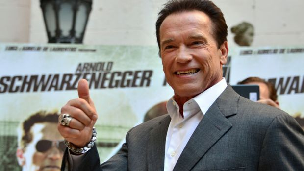If you've got the money, you could have dinner with Arnie when he comes to Perth.