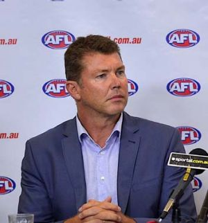 Collingwood CEO ... Gary Pert.