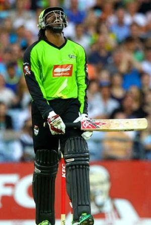 Danger man ... Australia are aiming to prolong Chris Gayle's summer of discontent when the one-day series begins.