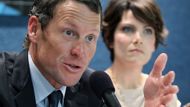 'Pathetic' ... Lance Armstrong says the Tour de France was 'invented as a stunt, and a very tough mother----'.