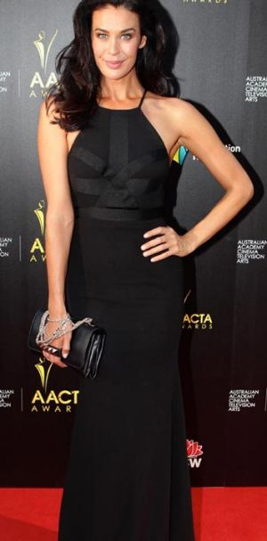 Hit! ... Megan Gale at the AACTAs.