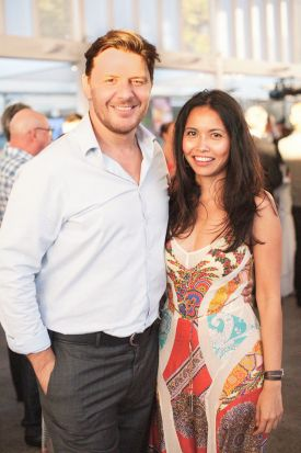 Manu Feildel and Clarissa Weerasena.