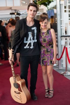 Marcus Catanzaro and Samantha Jade.