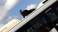 Not A Hero rides bus over Anzac bridge (Video Thumbnail)