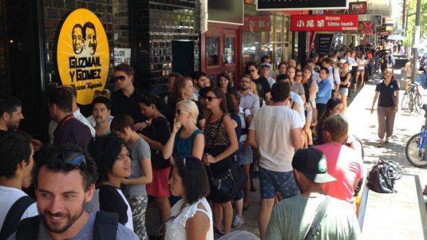 GYG's first Perth store gave away 1,430 free burritos within three hours of opening