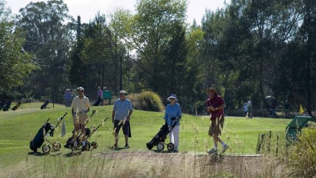 Southern Cross Pitch n Putt members have their last round at the course on Thursday before it is closed.