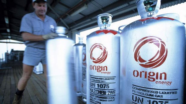 Origin said the upstream portion of the export gas project was 29 per cent complete with the downstream portion 31 per ...
