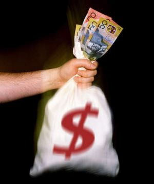 'It's the big bags of money that will attract the attention.'