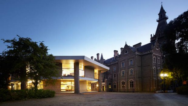 The revamped Ormond College Academic Centre at the University of Melbourne.
