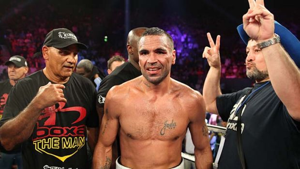 Still a drawcard … Anthony Mundine.