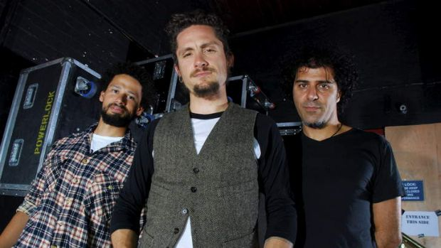 The John Butler Trio .. owed almost $100,000 from the Peats Ridge festival which is now in liquidation.