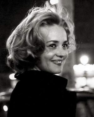 Jeanne Moreau in <i>Elevator to the Gallows</i>.