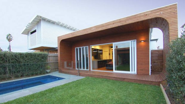 Dig Design's renovation in Williamstown.