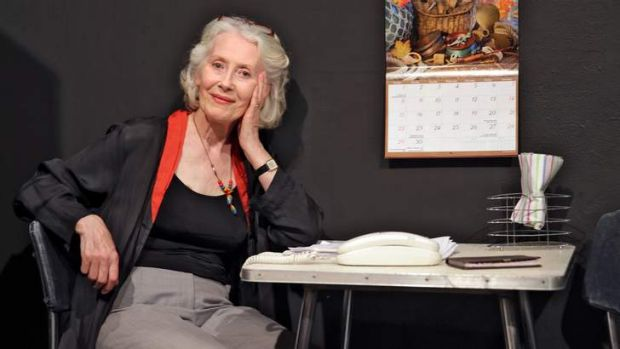 Julia Blake, at 76, plays a 91-year-old in <i>4000 Miles</i>.