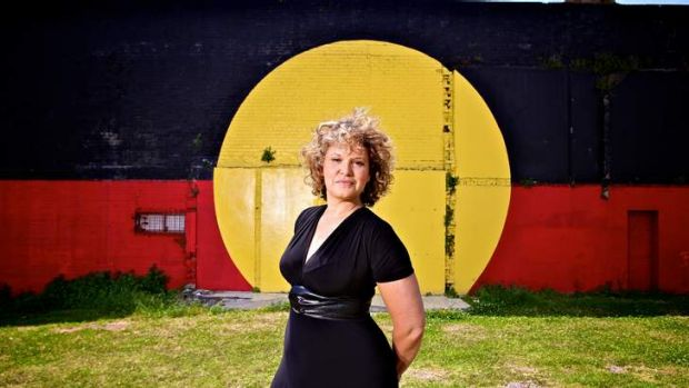 Winner ...  Leah Purcell won for her role in ABC TV series <i>Redfern Now</i>. Photo: Marco Del Grande