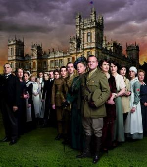 Upstairs, downstairs ... <i>Downton</i> is a sensation.