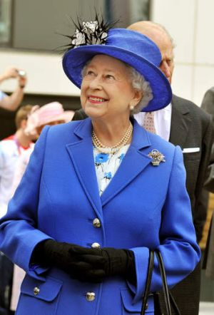 Britain's Queen Elizabeth II.