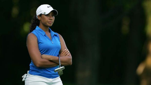 Cheyenne Woods wants to step out of the shadow of her famous uncle.