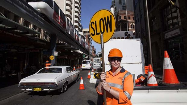 ''Sydney drivers are a bit scary. A car once tried to run me over down Sussex Street'' … Joanne Murphy, from ...