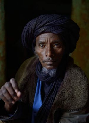 Outsiders … Tuareg Ali Ag Noh, in his home in the village of Seribala, 20 kilometress from Niono, says some of his ...