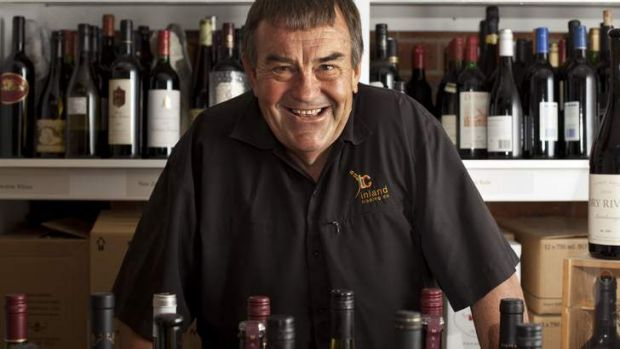 Greg Corra from Inland Trading, has been exporting Australian wines all over the world.