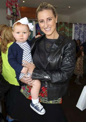 Got it, flaunts it ... Roxy Jacenko and daughter Pixie Rose.
