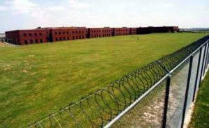 Bleak … the Arkansas supermax prison.