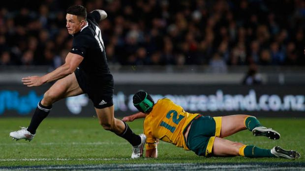 Overcoming all obstacles: Sonny Bill Williams the World Cup winning All Black.