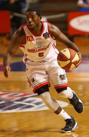 On guard ... Malcolm Grant has hit the ground running with the Wollongong Hawks.