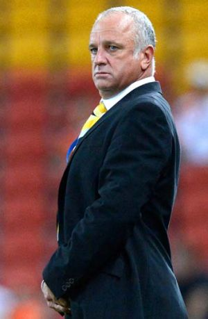 Not impressed ... Graham Arnold.