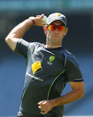 """I feel like I'm a genuine batsman"" ... Glenn Maxwell."