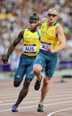 Eye opener ... Andrew McCabe won the 200m and the crowd at Kingston's National Stadium.