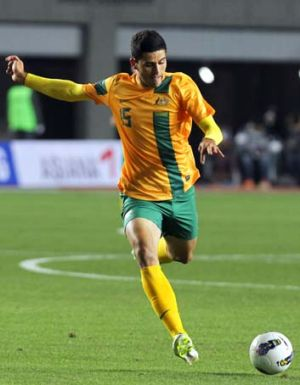 Took a chance ... Tom Rogic in action.
