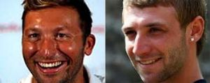 Separated at birth: Reader Stephen Golding wonders if test cricketer Phil Hughes and swimmer Ian Thorpe have ever been ...