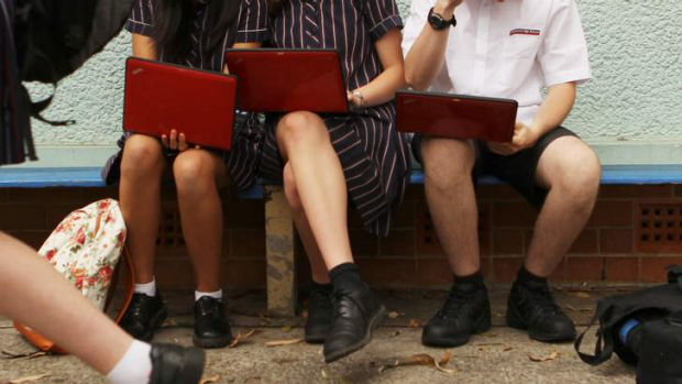 Schools are telling parents they must lease laptops for their children this year.