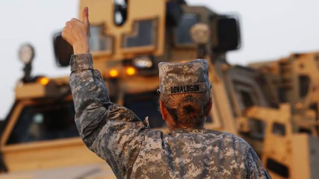 The US has recently lifted the military's ban on women serving in combat.