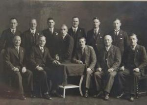 The founding members of the sub-branch.