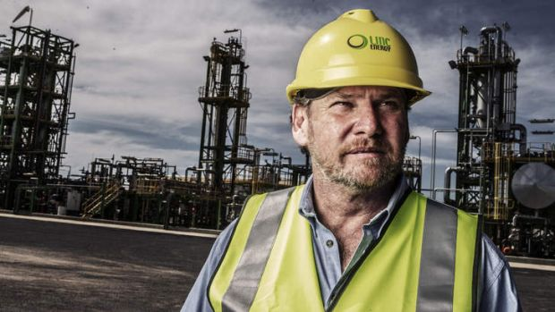Linc Energy's chief executive, Peter Bond, says the company has done a number of tests and the production cost always ...